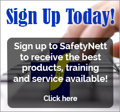 SafetyNett Sign Up Form